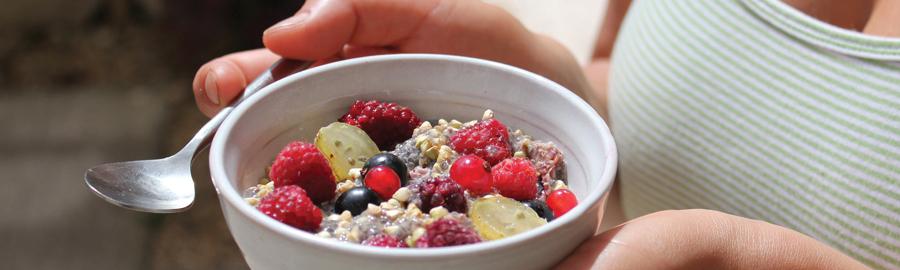 Chia & Berries Porridge