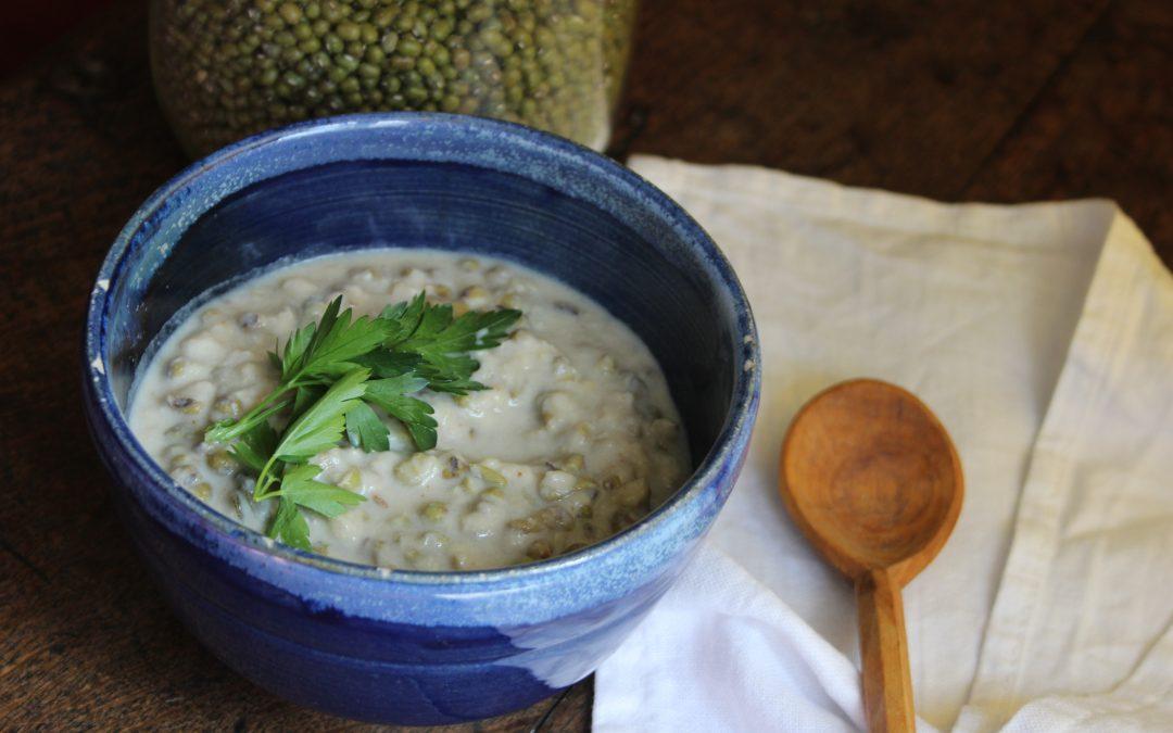 Thai style mung beans