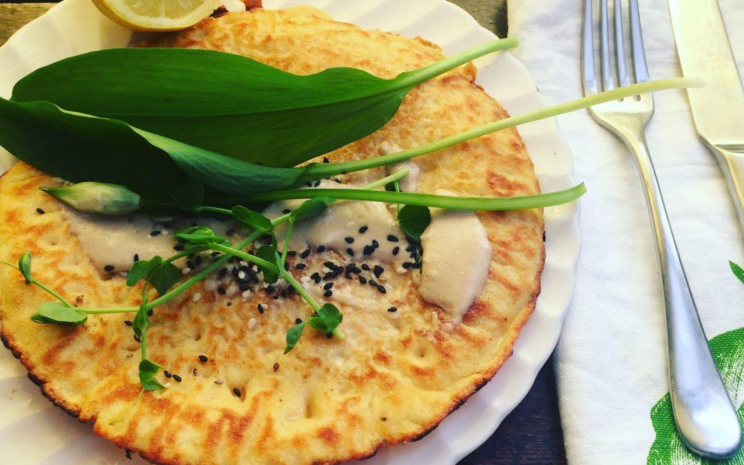 Uttapam- lentils and millet Crepe